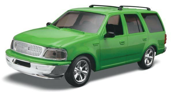 Revell 1/25 Ford Expedition Snap Tite Kit 85 1960 031445019609